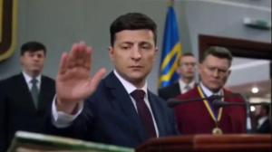 Ukraine's new comedian president outlines priorities